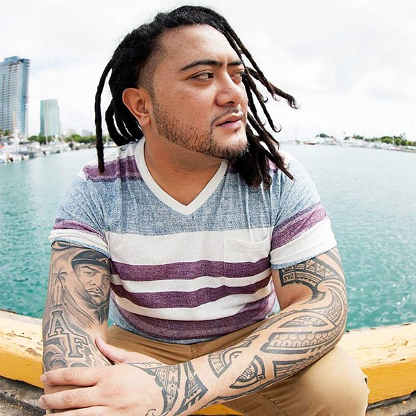 ISLAND SOUNDS Hawaiian reggae star J Boog plays the Fremont on Feb. 11. - PHOTO COURTESY OF J BOOG