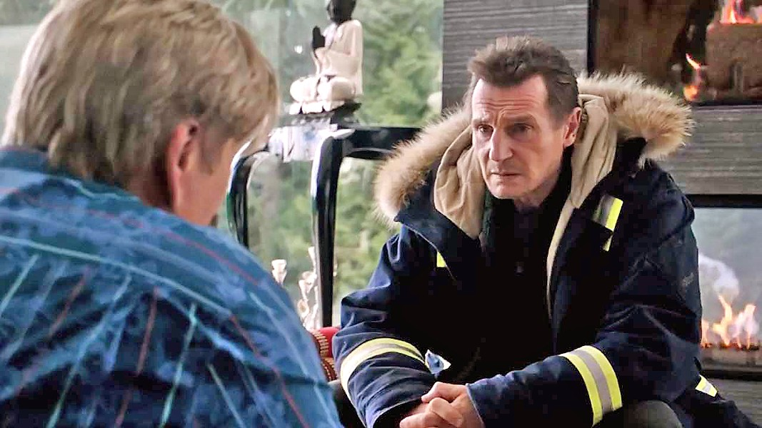 HE WILL FIND YOU Snowplow driver Nels Coxman (Liam Neeson) is out for revenge against the drug dealers who killed his son, in Cold Pursuit. - PHOTO COURTESY OF PARADOX FILMS