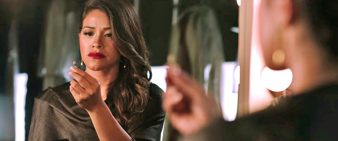 TABLE TURNER Miss Bala, based on the 2011 Mexican action film, stars Gina Rodriguez as Gloria, an American caught between a drug cartel and the DEA, who does what she needs to do to survive. - PHOTO COURTESY OF SONY PICTURES ENTERTAINMENT