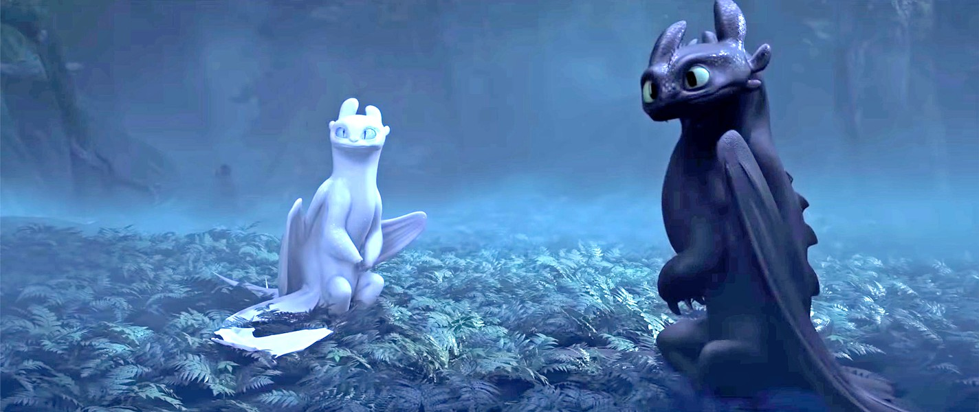 A WORTHY THREEQUEL Toothless the Night Fury dragon learns there are others of his kind, in the poignant and worthwhile How to Train Your Dragon: The Hidden World. - PHOTO COURTESY OF DREAMWORKS ANIMATION
