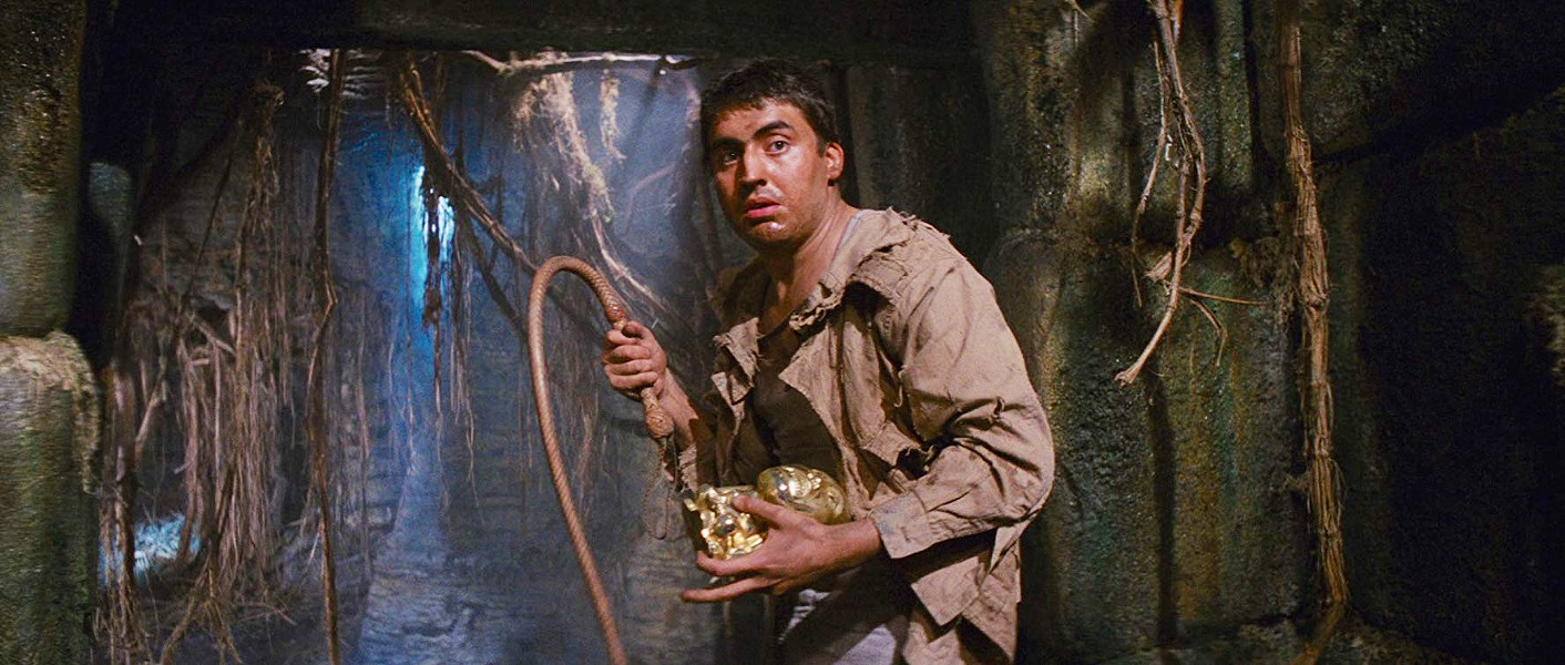 'THROW ME THE IDOL' In his first film role, Alfred Molina stars as Satipo, guide to Indiana Jones, in the 1981 film Raiders of the Lost Ark. - PHOTO COURTESY OF PARAMOUNT PICTURES