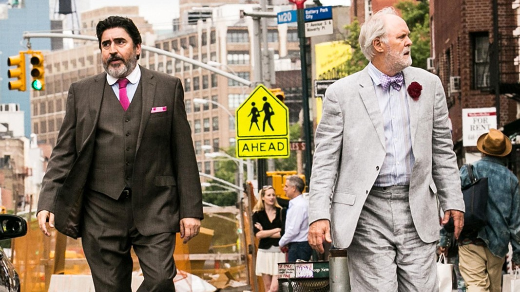 STRANGE LOVE Alfred Molina and John Lithgow played a gay couple whose lives are disrupted after they officially marry in the 2014 film Love Is Strange. - PHOTO COURTESY OF PARTS AND LABOR