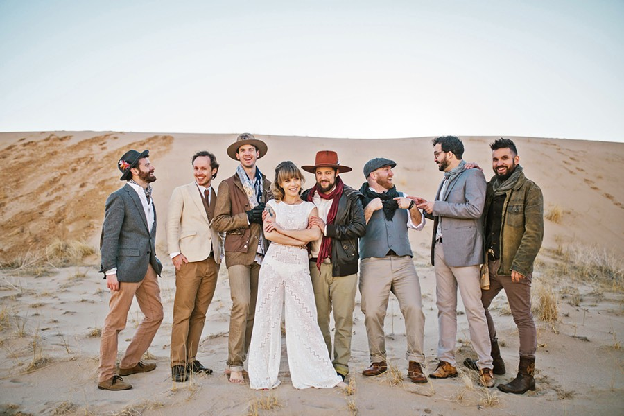 TEAM-UP With a horn section, The Dustbowl Revival will mix covers from The Band with their originals at the Fremont on March 20. - PHOTO COURTESY OF DUSTBOWL REVIVAL