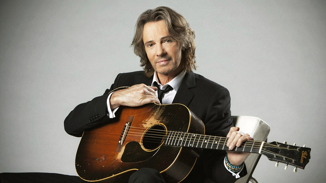 STRIPPED-DOWN On March 16, Rick Springfield will play an intimate, stripped-down show in the Rava Winery amphitheater, featuring his hit songs and storytelling. - PHOTO COURTESY OF RICK SPRINGFIELD