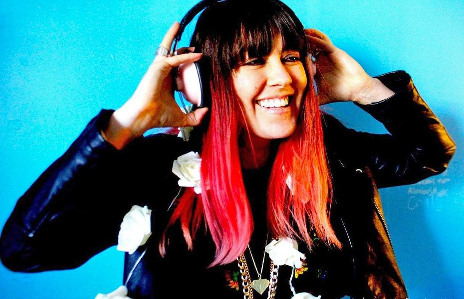 ROCKER LA-based musician and producer Vanessa Silberman plays the Frog and Peach on March 27. - PHOTO COURTESY OF VANESSA SILBERMAN