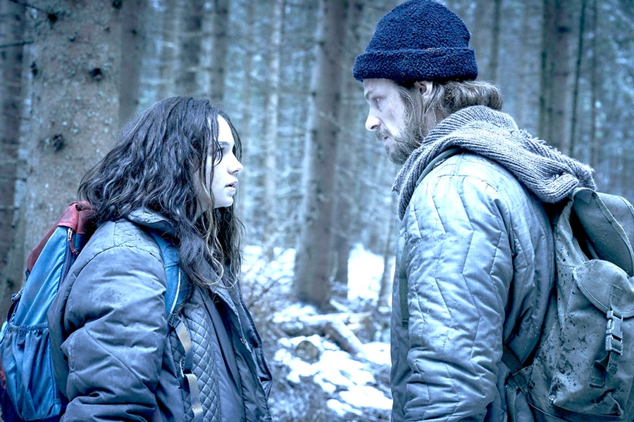 """DEADLY Hanna (Esme Creed-Miles, left) was raised in the woods and trained as an assassin by her """"father"""" Erik (Joel Kinnaman), in a new action series based on the 2011 film, Hanna. - PHOTO COURTESY OF AMAZON STUDIOS"""