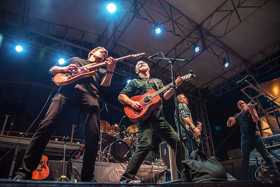 GET 'EM WHILE THEY'RE HOT The Young Dubliners play The Siren on May 10, before embarking on a national tour that will take them to big festivals across the country. - PHOTO COURTESY OF ELISA SAVOIA
