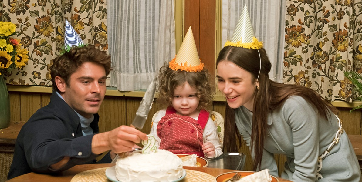 SEEMINGLY NORMAL Serial killer Ted Bundy (Zac Efron, left) is brought to authorities' attention by his longtime girlfriend, Liz Kendall (Lily Collins, right). - PHOTO COURTESY OF COTA FILMS