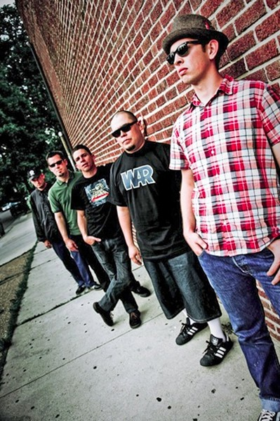GET IRIE Dirty LA reggae is slated for May 28, when The Aggrolites play The Siren. - PHOTO COURTESY OF THE AGGROLITES
