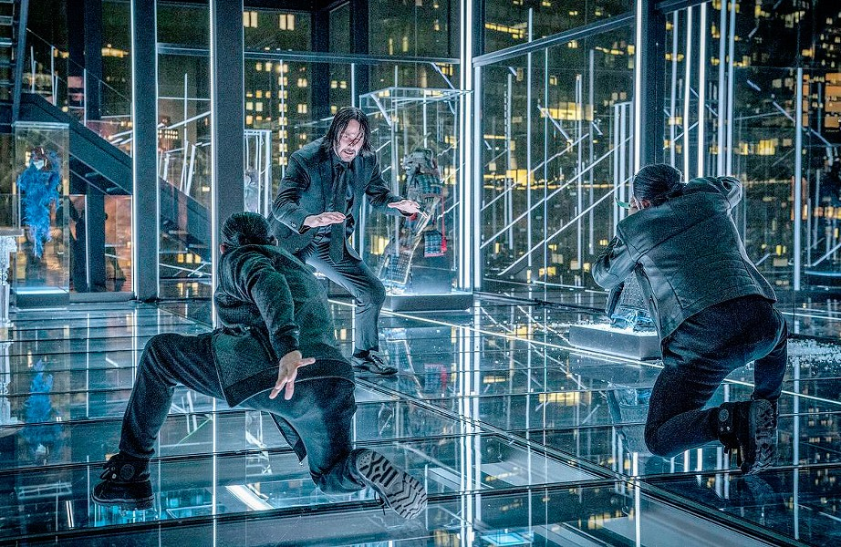HAND-TO-HAND Assassin John Wick (Keanu Reeves) takes on all comers, in the relentless action film John Wick: Chapter 3—Parabellum. - PHOTO COURTESY OF SUMMIT ENTERTAINMENT