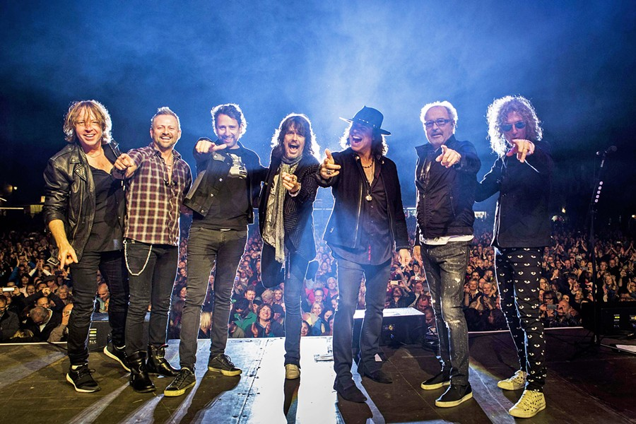 COLD AS ICE Foreigner plays Vina Robles Amphitheatre on June 9, but the show has sold out and only third-party vendors have tickets for sale. - PHOTO COURTESY OF FOREIGNER
