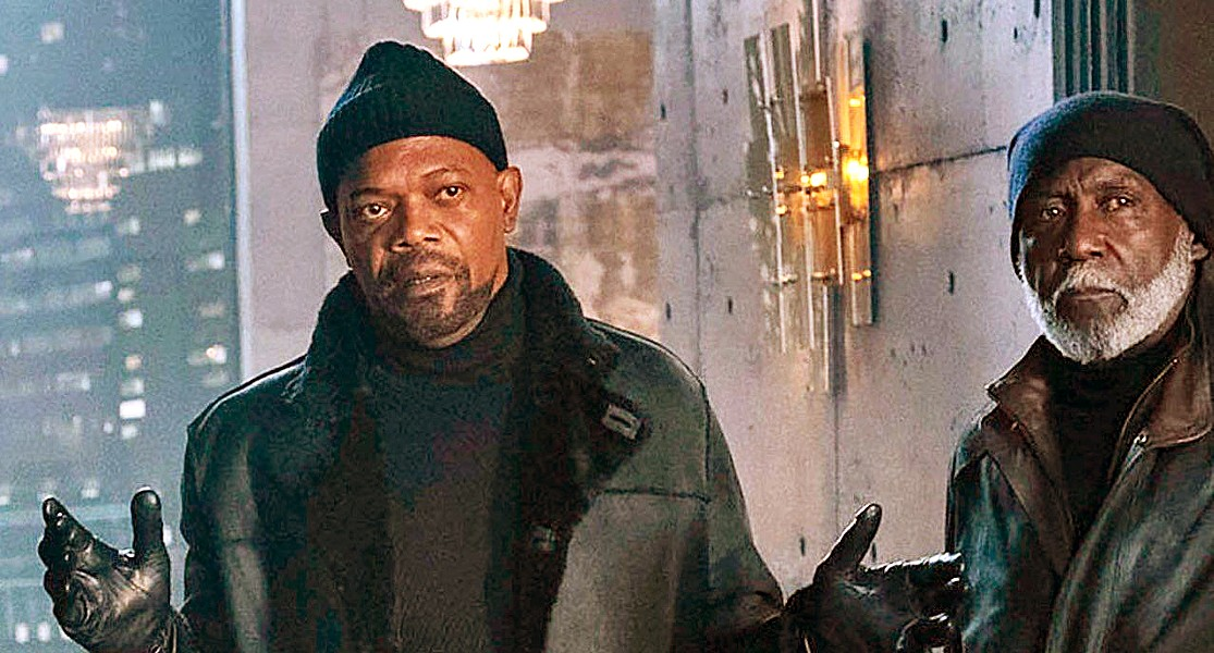 DINOSAURS John Shaft II (Samuel L. Jackson) and John Shaft I (Richard Roundtree) team up to search for a killer, in the regressive and unnecessary Shaft. - PHOTO COURTESY OF DAVIS ENTERTAINMENT