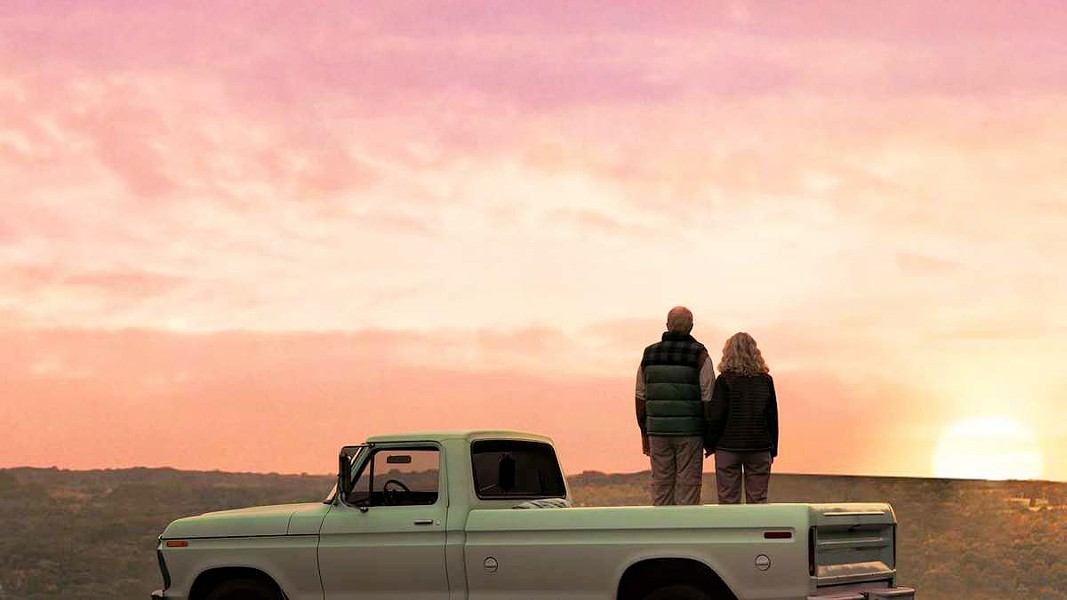 LOVE AND STUFF A survivalist (John Lithgow) and a shopaholic (Blyth Danner) find love, in The Tomorrow Man. - PHOTO COURTESY OF SYMBOLIC EXCHANGE