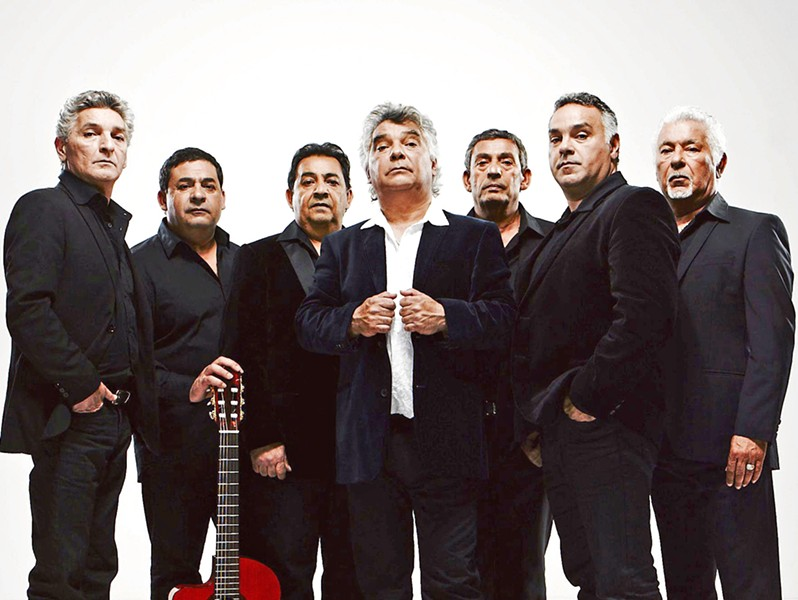 FLAMENCO CHAMPS The Gipsy Kings featuring Nicolas Reyes and Tonino Baliardo play the Vina Robles Amphitheatre on Aug. 4. - PHOTO COURTESY OF THE GIPSY KINGS