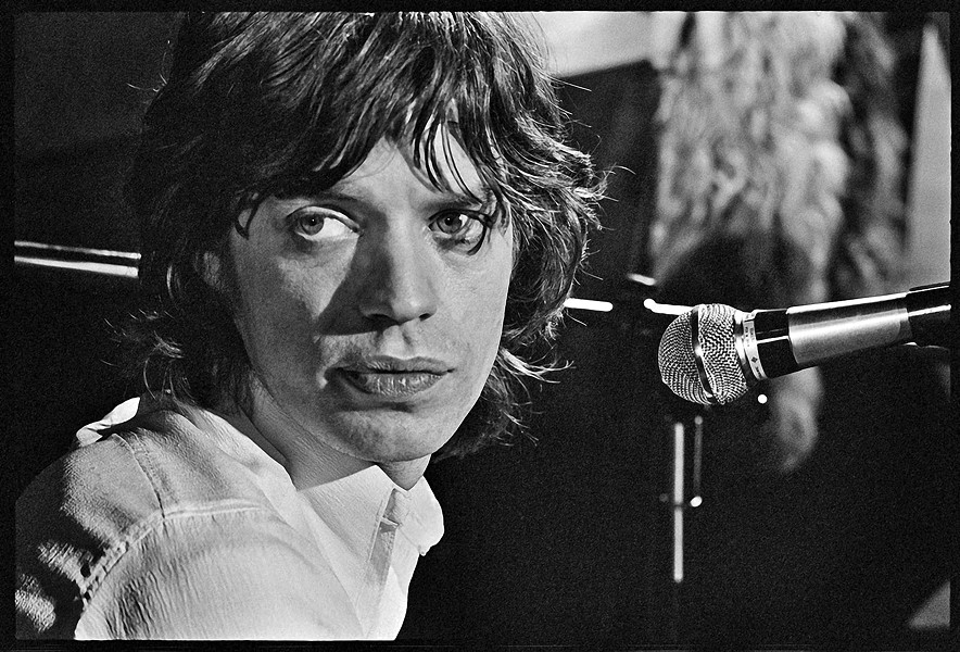 MOVES LIKE JAGGER Mick Jagger was shot by photographer Alec Byrne, who spent much of his career taking photos of The Rolling Stones. - PHOTOS COURTESY OF STUDIOS ON THE PARK