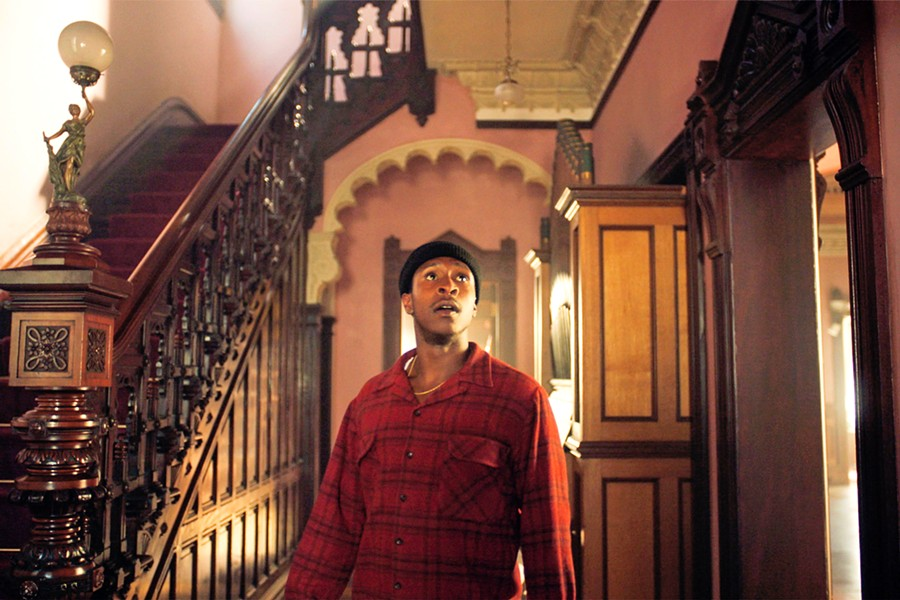 HOME IS WHERE THE HEART IS Jimmie Falls (Jimmie Falls) reclaims his childhood home, a Victorian house built by his grandfather, in The Last Black Man in San Francisco. - PHOTO COURTESY OF A24