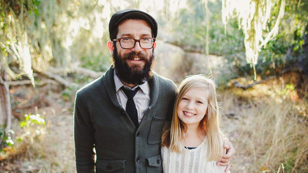 DYNAMIC DUO Father and daughter folk duo Chris and Harmony Beland play the SLO Brew Rock Event Center on Aug. 9. - PHOTO COURTESY OF CHRIS AND HARMONY BELAND