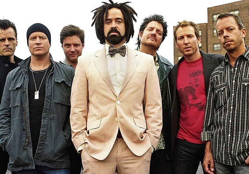 SOMETHING TO CROW ABOUT Classic rockers the Counting Crows play Vina Robles Amphitheatre on Aug. 10. - PHOTO COURTESY OF COUNTING CROWS