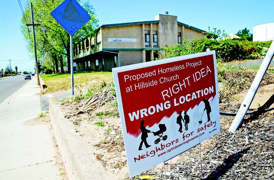 NO STRINGS ATTACHED At a meeting on Aug. 13, the SLO County Board of Supervisors voted unanimously to ensure that grant funding associated with a housing and shelter project is not tied to any particular property. - FILE PHOTO BY JAYSON MELLOM