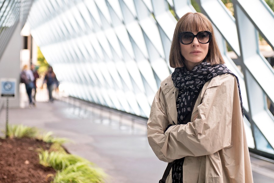 ME TIME Cate Blanchett stars as Bernadette Fox, who after years of motherhood decides to reconnect with her creative passions, in Where'd You Go, Bernadette. - PHOTO COURTESY OF ANNAPURNA PICTURES