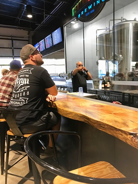 "CRAFTY Central Coast Brewing is one of three SLO Country breweries (54 in California), including Firestone Walker and SLO Brew, that make a special beer supporting ALS research. CCB's ""F&*% ALS"" IPA is available at its Monterey Street and Higuera (pictured) locations. - PHOTOS BY BETH GIUFFRE"
