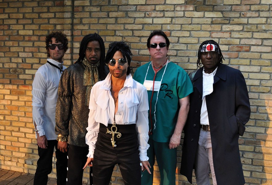 SYMBOL Relive the music of Prince when tribute act The Purple xPeRIeNCE comes to the Clark Center on Sept. 14 - PHOTO COURTESY OF THE PURPLE XPERIENCE