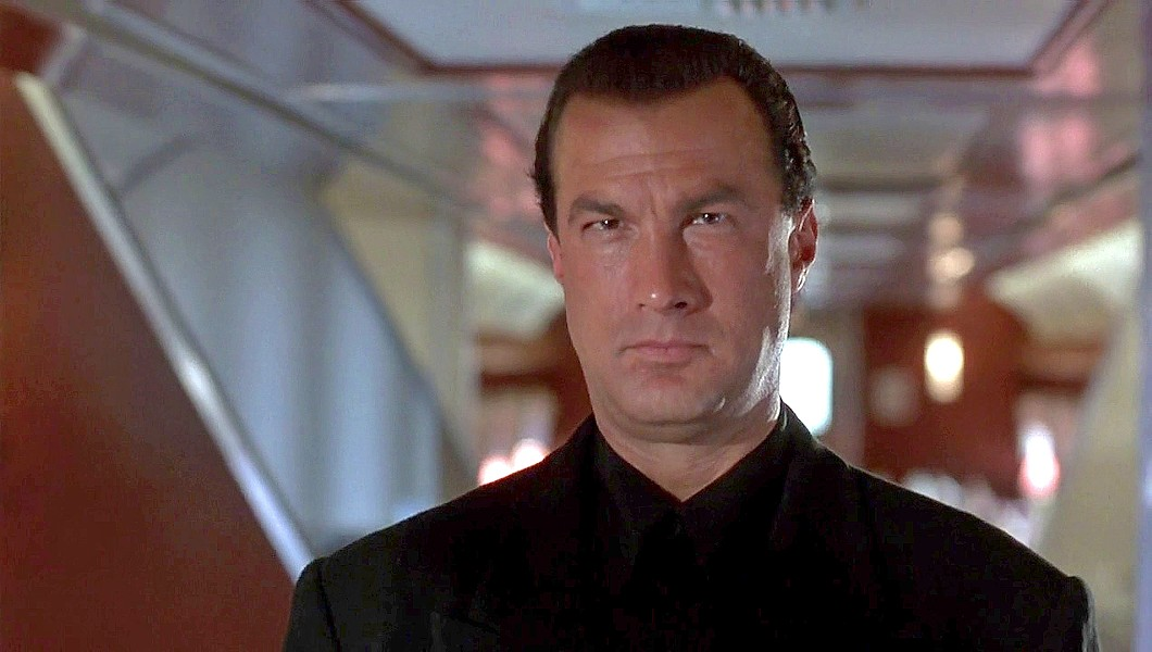 FIGHTER Steven Seagal is the everyman of action heroes, like in 1995's Under Siege 2: Dark Territory.s - PHOTO COURTESY OF WARNER BROS
