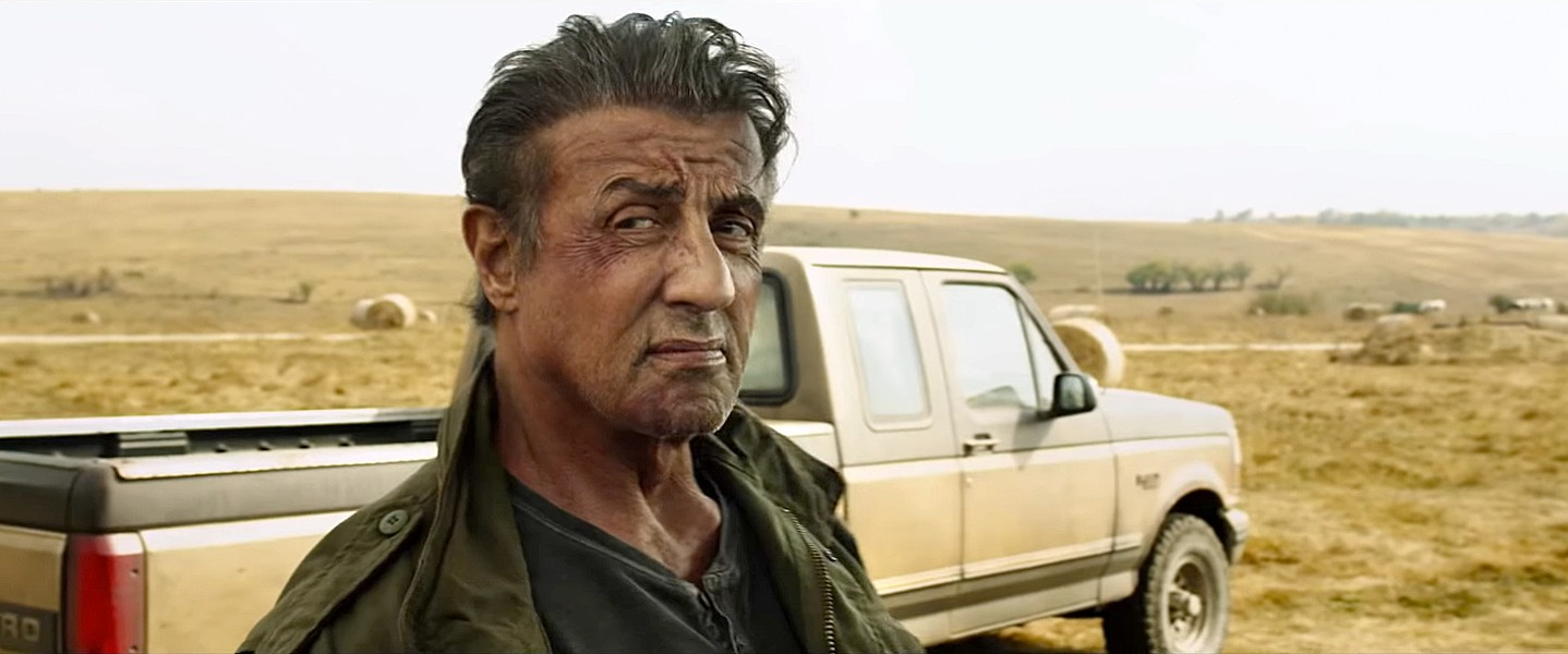 GRUMPY FACE Sylvester Stallone returns for the fifth time as traumatized Vietnam vet John Rambo, who kills a bunch of bad guys in gory fashion, in Rambo: Last Blood. - PHOTO COURTESY OF BALBOA PRODUCTIONS