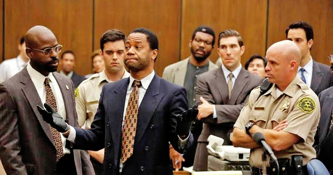 JUICE ON TRIAL The Emmy Award-winning FX true crime series, The People v. O.J. Simpson: American Crime Story, is available to stream on Netflix. - PHOTO COURTESY OF FX