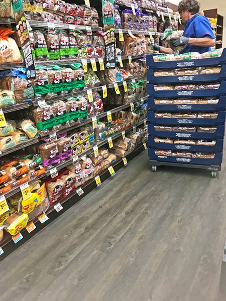 BEST THING SINCE Vons (pictured) offers a wide variety of bread, both organic and specialty. Oroweat organic bread sells for $4.49 a loaf—not the cheapest in the area, but it's certainly reliable. - PHOTO BY BETH GIUFFRE
