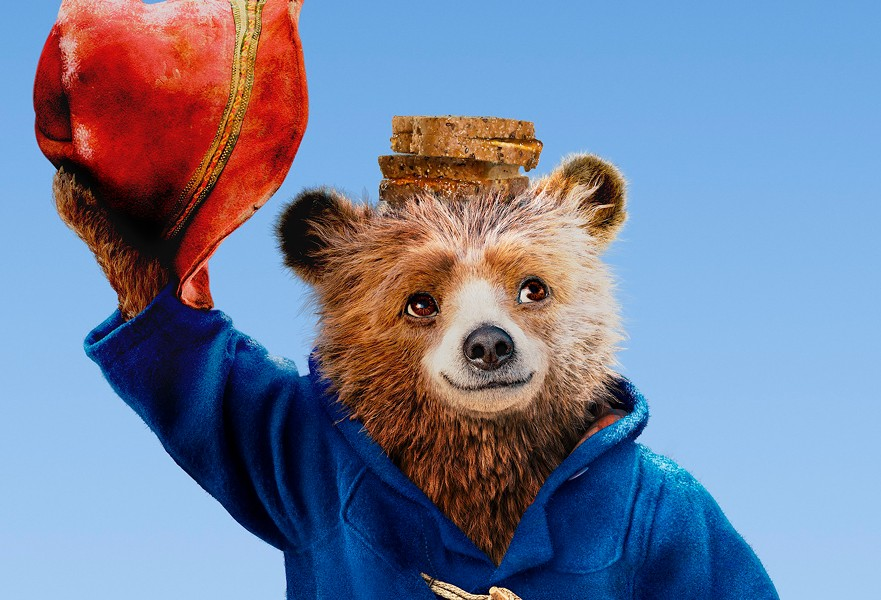 THAT SORT OF BEAR Paddington (voiced by Ben Whipshaw) with his marmalade sandwiches at the ready, goes on another adventure in Paddington 2 (2017), screening Nov. 2 and 3 at Park Cinemas. - PHOTO COURTESY OF STUDIOCANAL