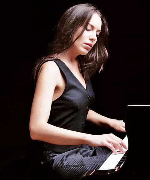 YOUNG LIONESS World-renowned Italian pianist Gloria Campaner plays Cal Poly's Performing Arts Center Pavilion on Nov. 13. - PHOTO COURTESY OF GLORIA CAMPANER