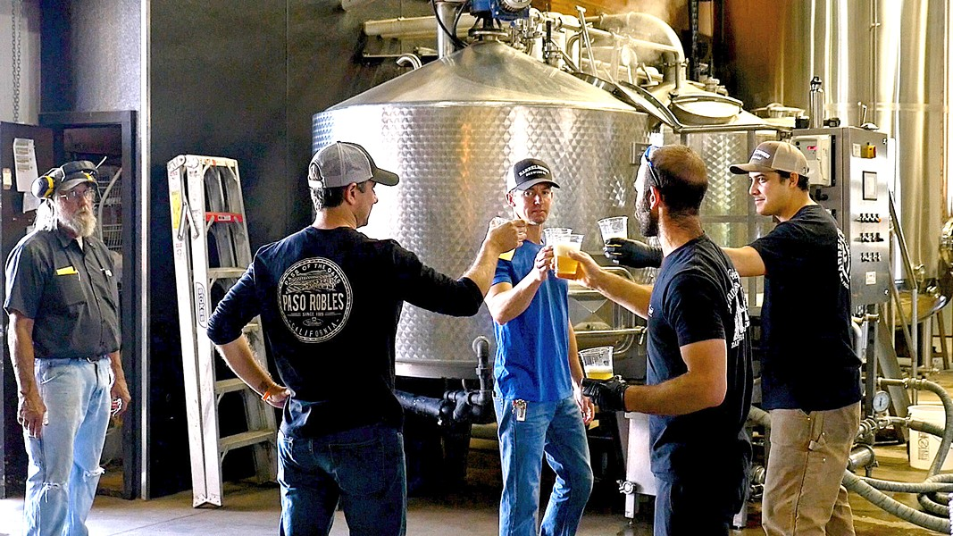 "THE ANCHOR What we learn from Tin City, the documentary, is how BarrelHouse, a brewery birthed from a couple of construction guys, was the keystone from the start. As one Tin City tenant put it: ""The better the beer, the bigger the buzz."" - PHOTO COURTESY OF TIN CITY"
