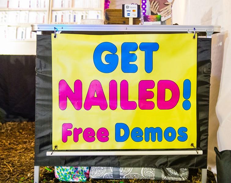 Get Nailed! - PHOTO BY JAYSON MELLOM