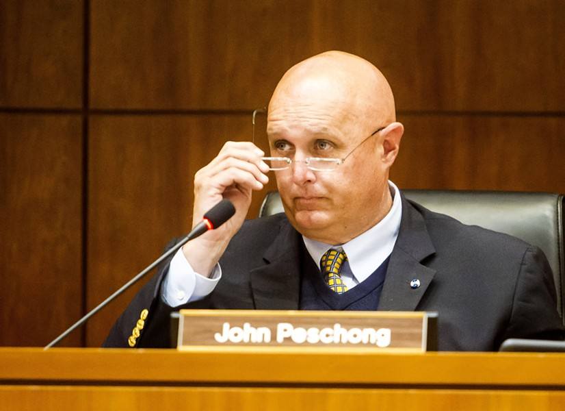 RE-ELECTION CAMPAIGN Incumbent 1st District SLO County Supervisor John Peschong went on the offensive against his challenger, Stephanie Shakofsky, in a new radio ad. - FILE PHOTO BY JAYSON MELLOM