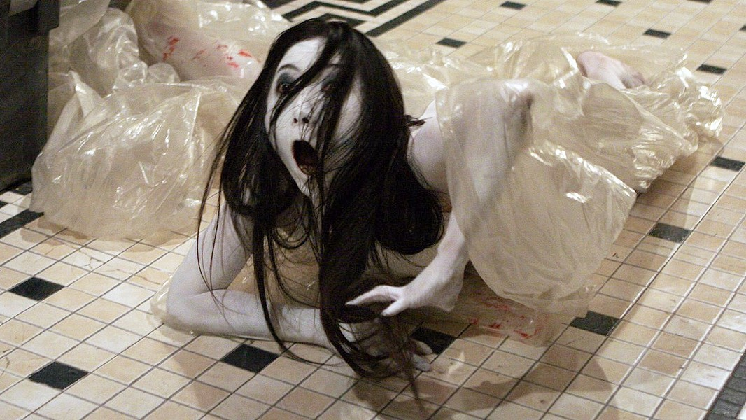 GRUMPY GHOST In The Grudge, Junko Bailey stars as Kayako Ghost, in the so-so reboot of this long-running franchise that started in 2002 with the Japanese film Ju-on, about a vengeful spirit that dooms those it encounters. - PHOTO COURTESY OF SCREEN GEMS