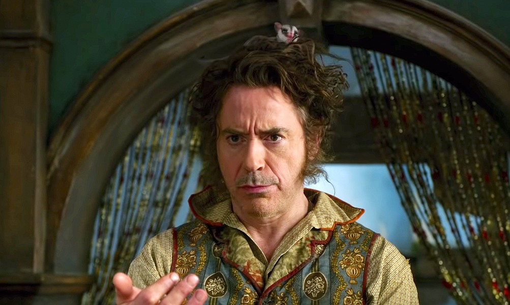 THE GOOD DOCTOR Robert Downey Jr. stars as physician John Dolittle, who discovers he can talk to animals, in Dolittle. - PHOTO COURTESY OF UNIVERSAL PICTURES