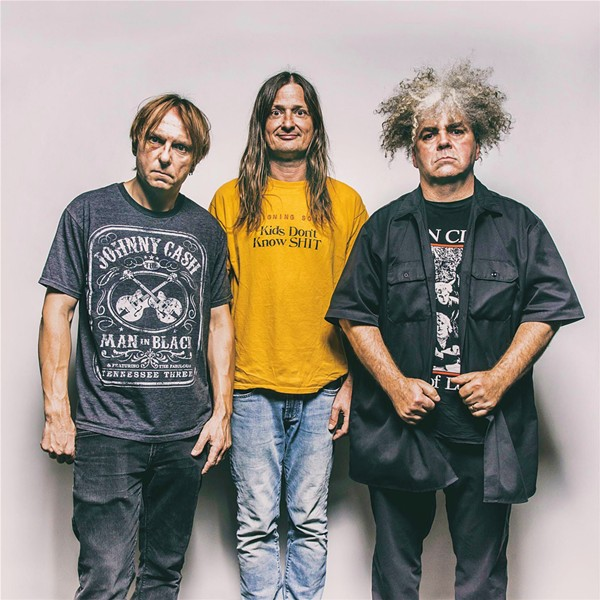 METAL SLUDGE The Melvins play at Sweet Springs Saloon on Feb. 16. - PHOTO COURTESY OF THE MELVINS