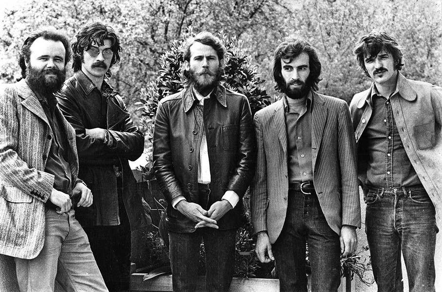 BAND OF BROTHERS The new documentary Once Were Brothers: Robbie Robertson and the Band chronicles Robbie Robertson's early career with The Band, screening exclusively at The Palm. - PHOTO COURTESY OF IMAGINE DOCUMENTARIES