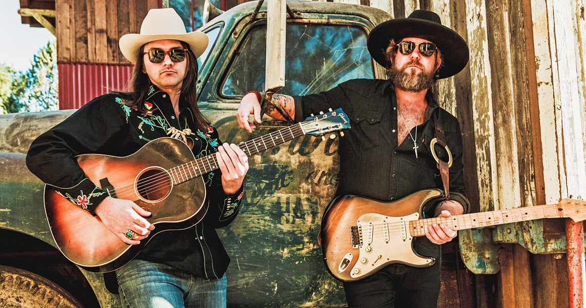 APPLES DON'T FALL FAR The Allman Betts Band features the sons of Gregg Allman (Devon Allman) and Dickey Betts (Duane Betts), playing new songs and Allman Brothers classics at the Fremont on March 11. - PHOTO COURTESY OF THE ALLMAN BETTS BAND