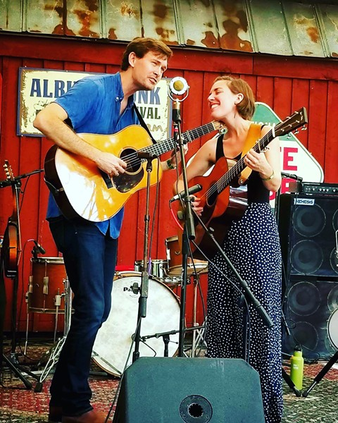 AMERICANA SLOfolks presents the terrific folk duo The Honey Dewdrops on March 13 in Coalesce Bookstore and March 14 at Castoro Cellars. - PHOTO COURTESY OF THE HONEY DEWDROPS
