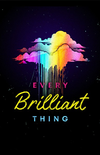 EVOCATIVE SHOW SLO Rep's Every Brilliant Thing is a one-man show like no other, enlisting audience members to participate in the production. - PHOTO COURTESY OF SLO REPERTORY THEATRE