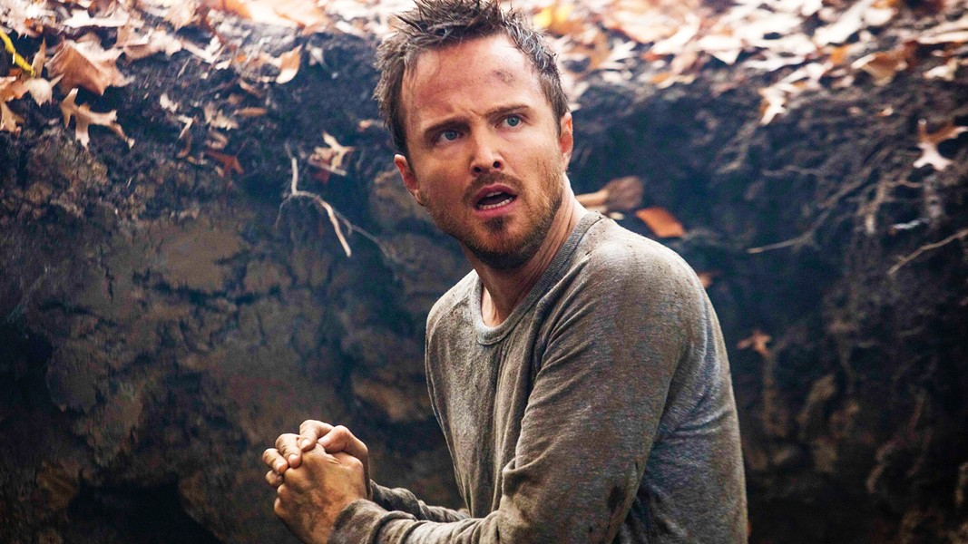 NEW CHARACTER Aaron Paul joins the cast of HBO's Westworld as Caleb Nichols, a construction worker and former soldier, who's also a petty criminal. - PHOTO COURTESY OF HBO