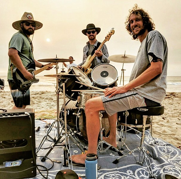 POWER TRIO Echo Canyon will release their second album, Dark Skies, on April 17. Hear two of their tracks on YouTube. - PHOTO COURTESY OF ECHO CANYON