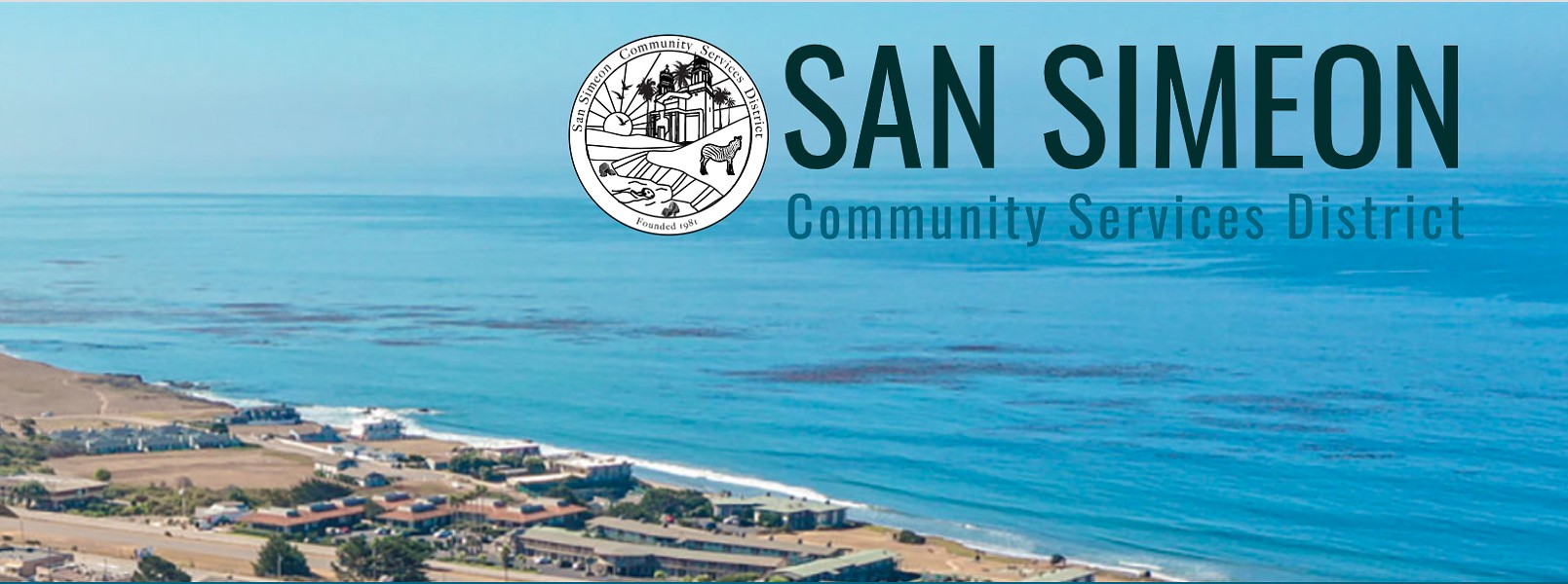ACCIDENTAL MISINFORMATION The SLO County District Attorney's Office slapped the San Simeon Community Services District with a Brown Act violation notice for failing to provide public access to its March 2020 special meeting. - PHOTO COURTESY OF THE SAN SIMEON COMMUNITY SERVICES DISTRICT WEBSITE