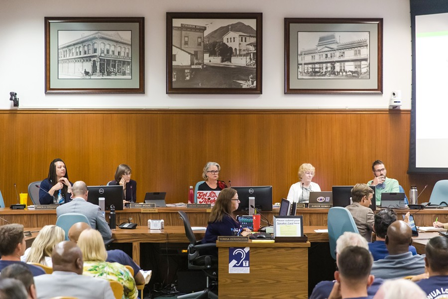 NEW BUDGET The SLO City Council passed a 2020-21 budget with nearly $5 million in cuts due to the COVID-19 shutdown. - FILE PHOTO BY JAYSON MELLOM