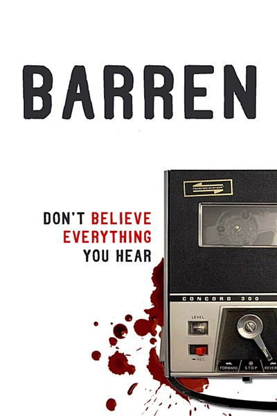 REVIEW IT The podcast Barren is now available to listen to on Apple Podcasts, Spotify, and more. - IMAGE COURTESY OF DAVID VIENNA