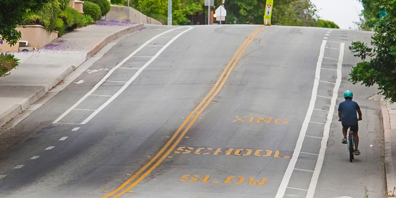 WASTE? Readers voted that bike lanes were the Biggest Waste of Taxpayers' Dollars this year, which is not something that all SLO County residents are likely to agree on.