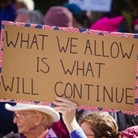 Rallying for change  PHOTO BY JAYSON MELLOM