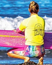 CELEBRATING SURVIVORS Surfing for Hope Foundation is holding its first Women's Cancer Survivor Camp in Pismo Beach on Oct. 10 for women currently undergoing treatment or who have completed cancer treatment.